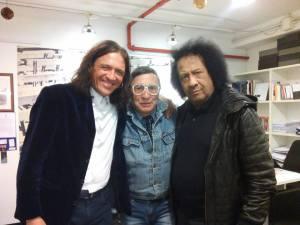 con James Senese e Antonio Onorato