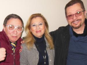con Caterina de Santis e Rosario Ferro