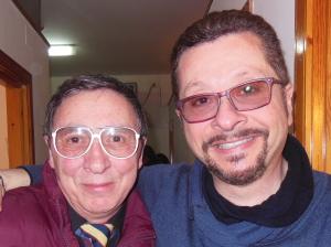 con Rosario Ferro
